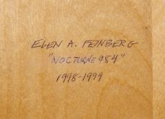 Elen Feinberg Nocturne 984 Painting by Elen Feinberg - 297029