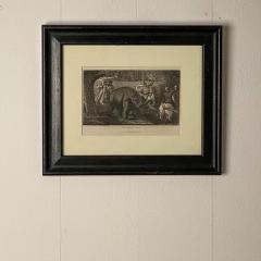 Elephant Capture Engraving England Circa 1820 - 1655256