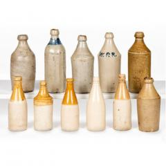 Eleven Early American Stoneware Bottles - 2072748