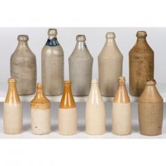 Eleven Early American Stoneware Bottles - 2072749