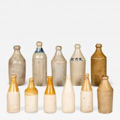 Eleven Early American Stoneware Bottles - 2074728