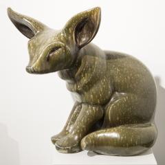 Elfriede Balzar Kopp Fox Fennec sculpture by Elfriede Balzar Kopp circa 1955 - 959743