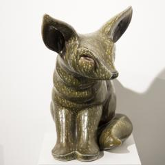 Elfriede Balzar Kopp Fox Fennec sculpture by Elfriede Balzar Kopp circa 1955 - 959744