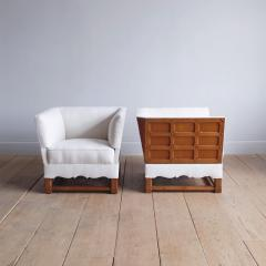 Elias Barup Rare Pair of Chairs from The Spanish Set by Elias Barup - 1196091
