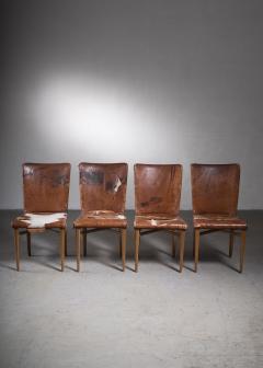 Elias Svedberg Elias Svedberg set of 4 chairs for Nordiska Kompaniet - 2006333