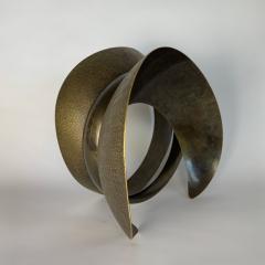 Elie Hirsch BEAUTY BELT Hammered brass sculpture - 1442034