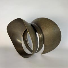 Elie Hirsch BEAUTY BELT Hammered brass sculpture - 1442036