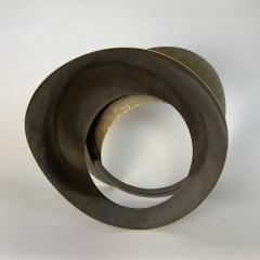 Elie Hirsch BEAUTY BELT Hammered brass sculpture - 1442037