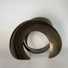 Elie Hirsch BEAUTY BELT Hammered brass sculpture - 1442038