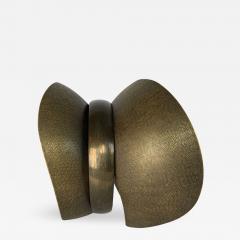 Elie Hirsch BEAUTY BELT Hammered brass sculpture - 1442633