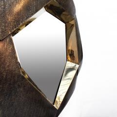 Elie Hirsch FRACTAL Brass Mirror - 934486