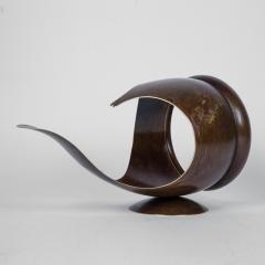 Elie Hirsch TELL IT Hammered brass sculpture - 1441980