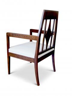 Eliel Saarinen Art Nouveau Armchair in Beech in the style of Eliel Saartinen - 617929