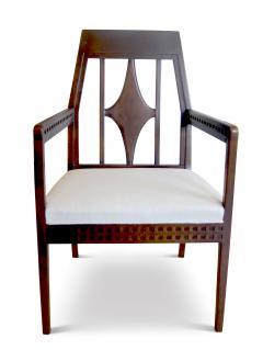 Eliel Saarinen Art Nouveau Armchair in Beech in the style of Eliel Saartinen - 617930