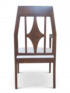 Eliel Saarinen Art Nouveau Armchair in Beech in the style of Eliel Saartinen - 617931
