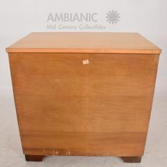 Eliel Saarinen Eliel Saarinen Short Blonde Birch Dresser Classic Art Deco Johnson Co 1940s - 1542877