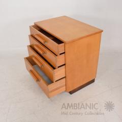 Eliel Saarinen Eliel Saarinen Short Blonde Birch Dresser Classic Art Deco Johnson Co 1940s - 1542880