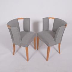 Eliel Saarinen Eliel Saarinen pair of arm chairs 1941 for Imperial Rattan Co  - 1093183