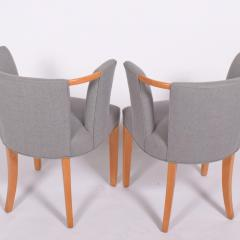 Eliel Saarinen Eliel Saarinen pair of arm chairs 1941 for Imperial Rattan Co  - 1093189