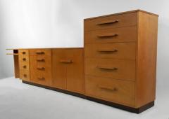 Eliel Saarinen Flexible Home Arrangement Modular Birch Cabinet System by Eliel Saarinen - 303058