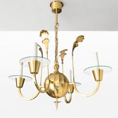 Elis Bergh 4 ARM CHANDELIER BY ELIS BERGH FOR C G HALLBERG - 722942