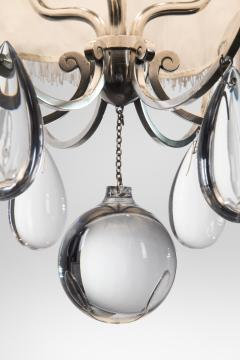 Elis bergh a swedish silvered and glass lantern chandelier elis bergh a swedish silvered and glass lantern chandelier 37805 aloadofball Choice Image