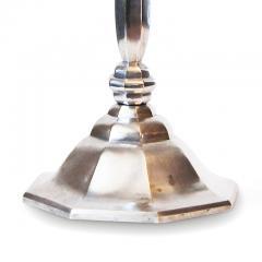Elis Bergh Fine and Faceted Art Deco Lamp by Elis Bergh Herman Bergmans Konstgjuteri - 1206430