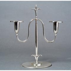 Elis Bergh Pair of Swedish Candlesticks 1920s - 840310