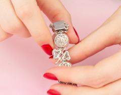 Ella Gafter Australian White South Sea Pearl and Diamond Bracelet - 1009651