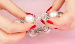 Ella Gafter Australian White South Sea Pearl and Diamond Bracelet - 1009653