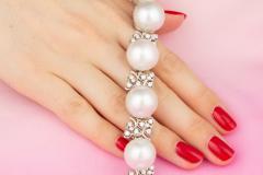 Ella Gafter Australian White South Sea Pearl and Diamond Bracelet - 1009654