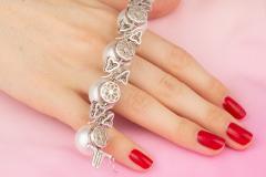 Ella Gafter Australian White South Sea Pearl and Diamond Bracelet - 1009655