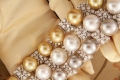 Ella Gafter Australian White South Sea Pearl and Diamond Bracelet - 1009662