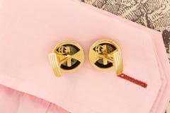 Ella Gafter Ella Gafter Antique Copper Coin Cufflinks Yellow Gold - 1030029