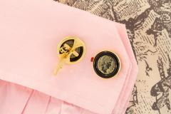 Ella Gafter Ella Gafter Antique Copper Coin Cufflinks Yellow Gold - 1030031