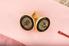 Ella Gafter Ella Gafter Antique Copper Coin Cufflinks Yellow Gold - 1030034