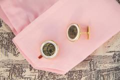 Ella Gafter Ella Gafter Antique Copper Coin Cufflinks Yellow Gold - 1030122
