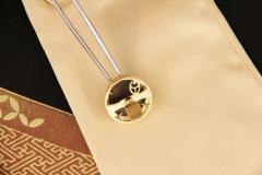 Ella Gafter Ella Gafter Antique Copper Coin Cufflinks Yellow Gold Diamonds - 1029230