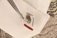 Ella Gafter Ella Gafter Antique Silver Coin Cufflinks Diamonds White Gold - 1030174