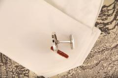 Ella Gafter Ella Gafter Antique Silver Coin Cufflinks White Gold - 1030143