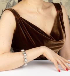 Ella Gafter Ella Gafter Black Tahitian Pearl and Diamond Bracelet - 1009708