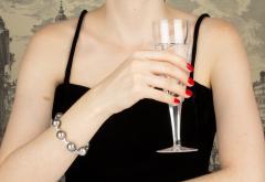 Ella Gafter Ella Gafter Black Tahitian Pearl and Diamond Bracelet - 1009764