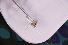 Ella Gafter Ella Gafter Blue Sapphire and Diamond Cufflinks White Gold - 1030107