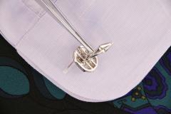 Ella Gafter Ella Gafter Blue Sapphire and Diamond Cufflinks White Gold - 1030108