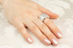 Ella Gafter Ella Gafter Diamond Band - 1169688