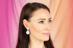 Ella Gafter Ella Gafter Diamond Earrings Clip On - 1176115