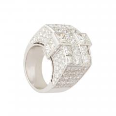 Ella Gafter Ella Gafter Gold and Diamond Cocktail Ring - 1097323