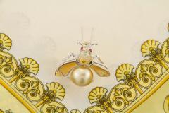 Ella Gafter Ella Gafter Golden Pearl Fancy Color Diamonds Bee Brooch Pin - 1042483