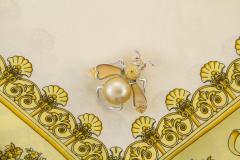 Ella Gafter Ella Gafter Golden Pearl Fancy Color Diamonds Bee Brooch Pin - 1042485