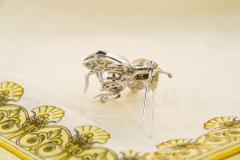 Ella Gafter Ella Gafter Golden Pearl Fancy Color Diamonds Bee Brooch Pin - 1042486